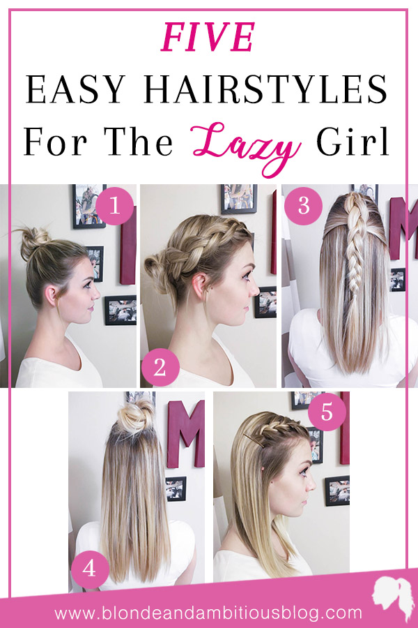 Hairstyle Hacks: 5 Easy Styles