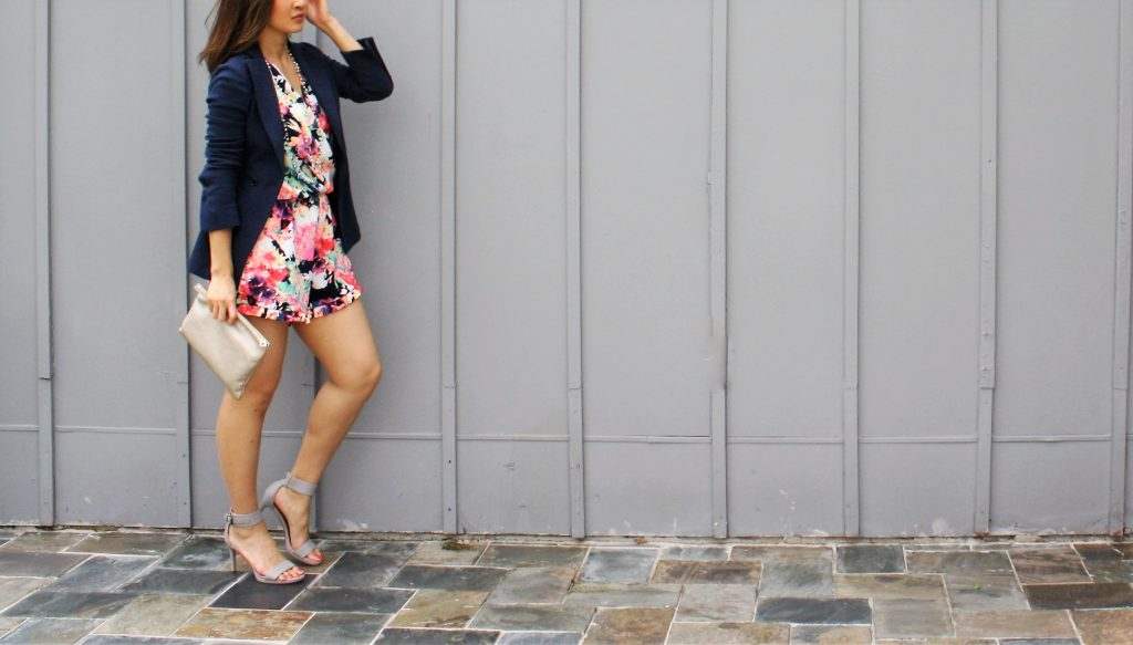 Floral Romper Fashion