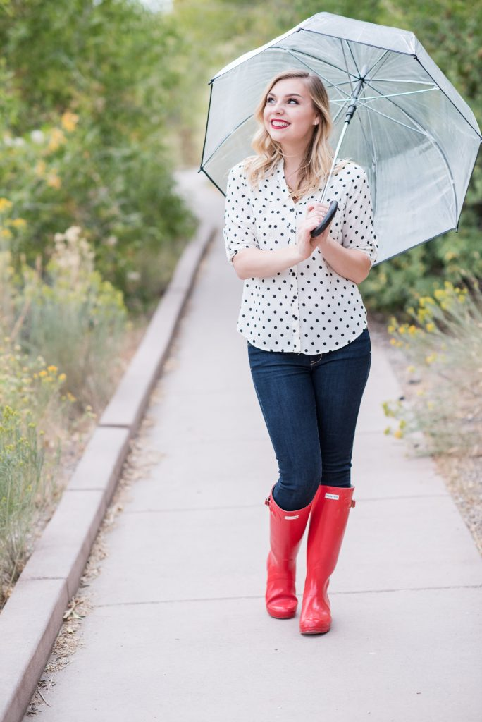 HOW TO STYLE RAIN BOOTS