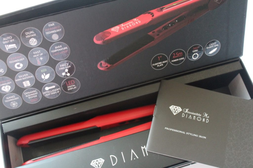 Full review of Irresistible Me Diamond Styling Iron