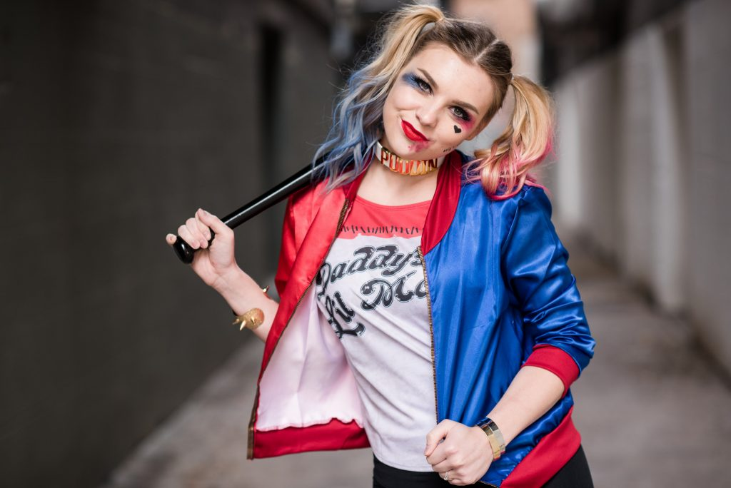 Harley quinn and joker couple costume blonde ambitious blog harley quinn and joker couple costume look your best on halloween with this easy solutioingenieria Image collections