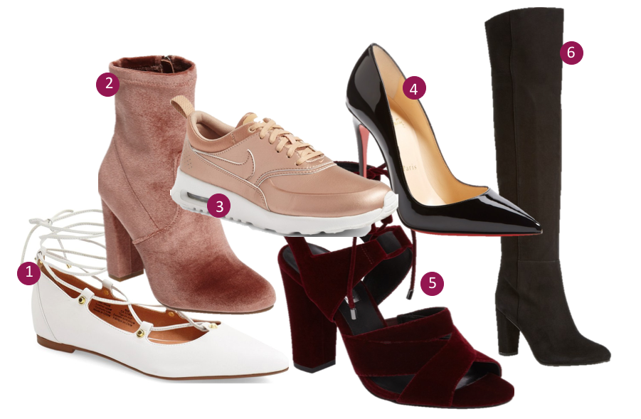 trend to try: shoe edition
