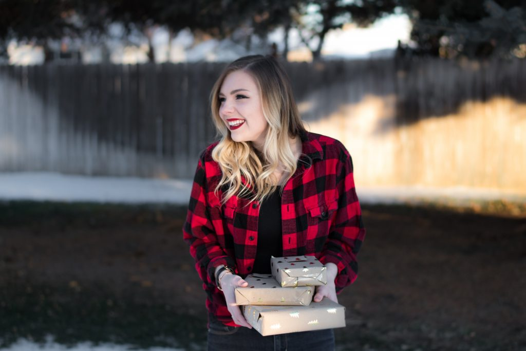 BUFFALO PLAID + A CONFIDENCE BOOST
