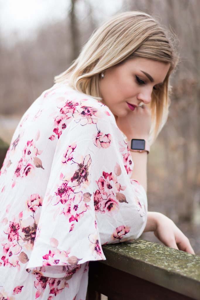 Spring Two Ways: Floral Kimonos + Side Ties