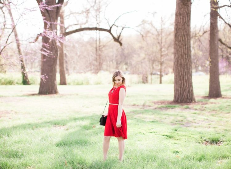 red in sHow To Style A Valentine's Day Date Night Outfitpring