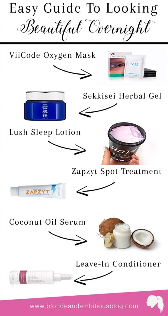 Overnight Beauty (How To Get Gorgeous While Sleeping)