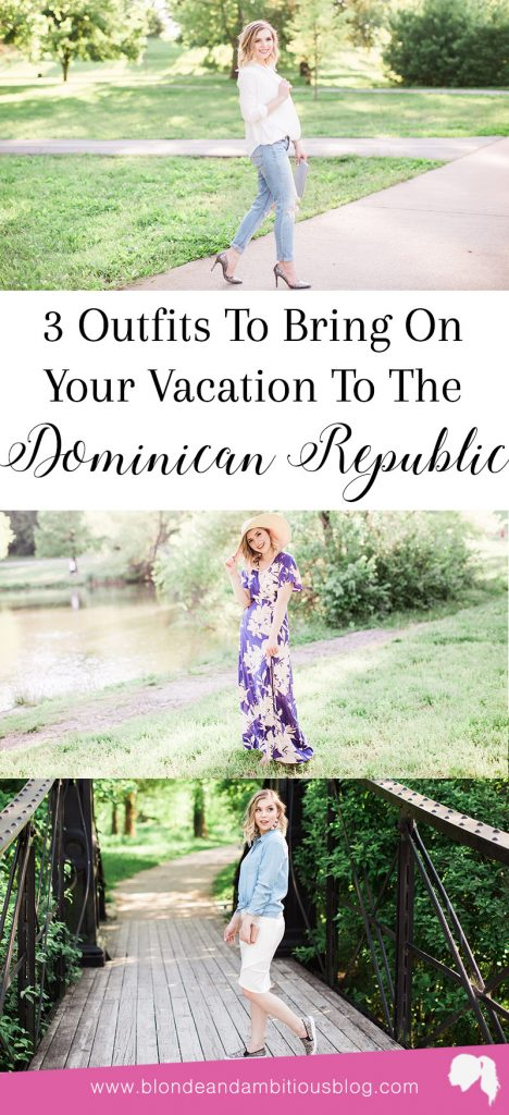 Three Outfits To Make You Vacation Ready