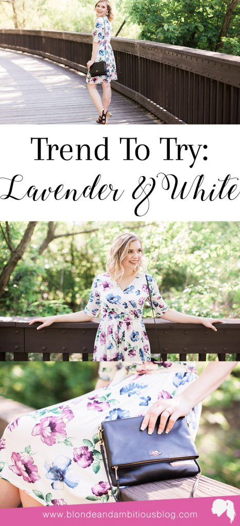Trend To Try: Lavender & White