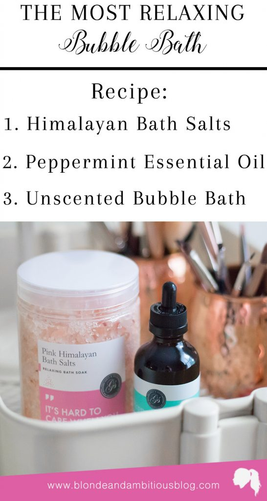 How To Make The BEST Bubble Bath
