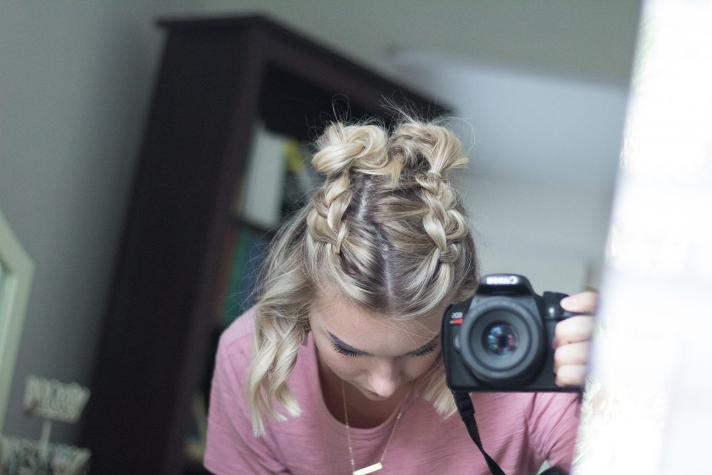 Double Dutch Half-Up Braid Tutorial