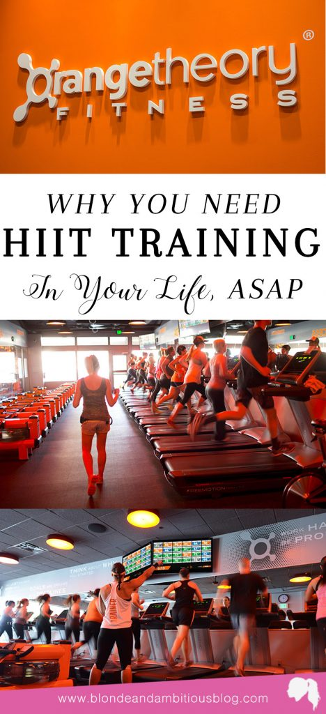 You Need To Be Taking A HIIT Class -- Orange Theory Fitness