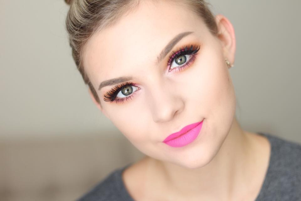 Neon Sunset Smokey Eye Video Tutorial