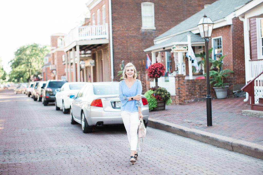How To Style A Bell-Sleeved Top (Without Looking Boho)