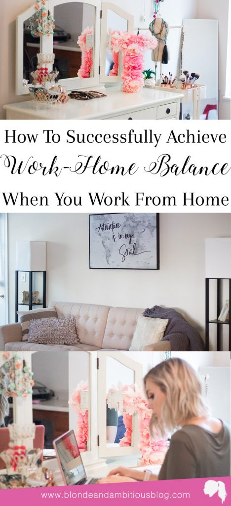 How To Achieve Work-Home Balance When You Work From Home