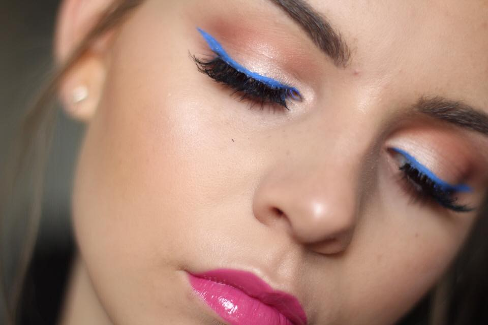 NYFW-Ready Neon Makeup Tutorial