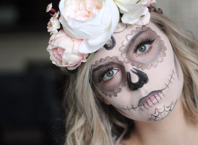 Halloween Tutorial Series: Day of the Dead Sugar Skull