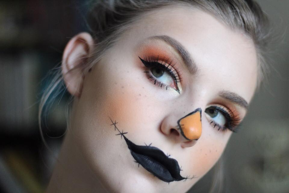 Halloween Tutorial Series: Glam Scarecrow
