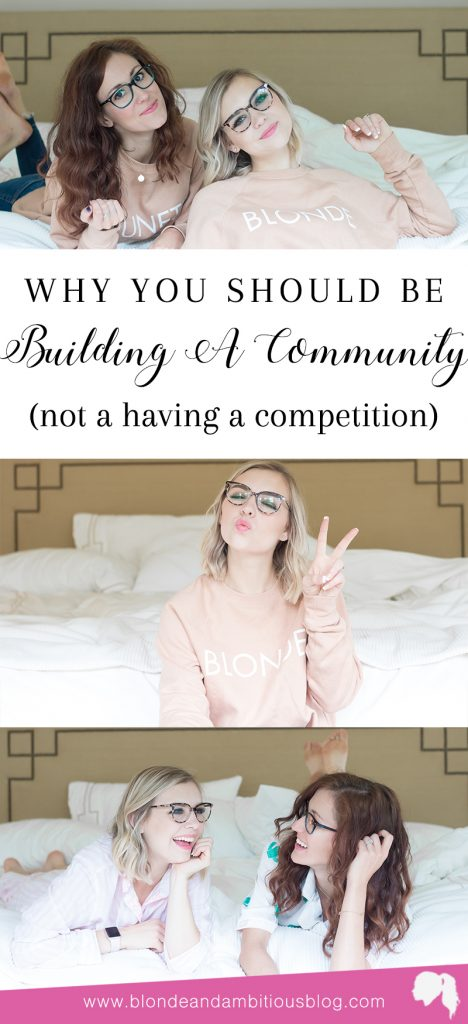 Building A Community Over Competition