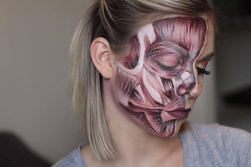 Halloween Tutorial Series: Exposed Face Muscles