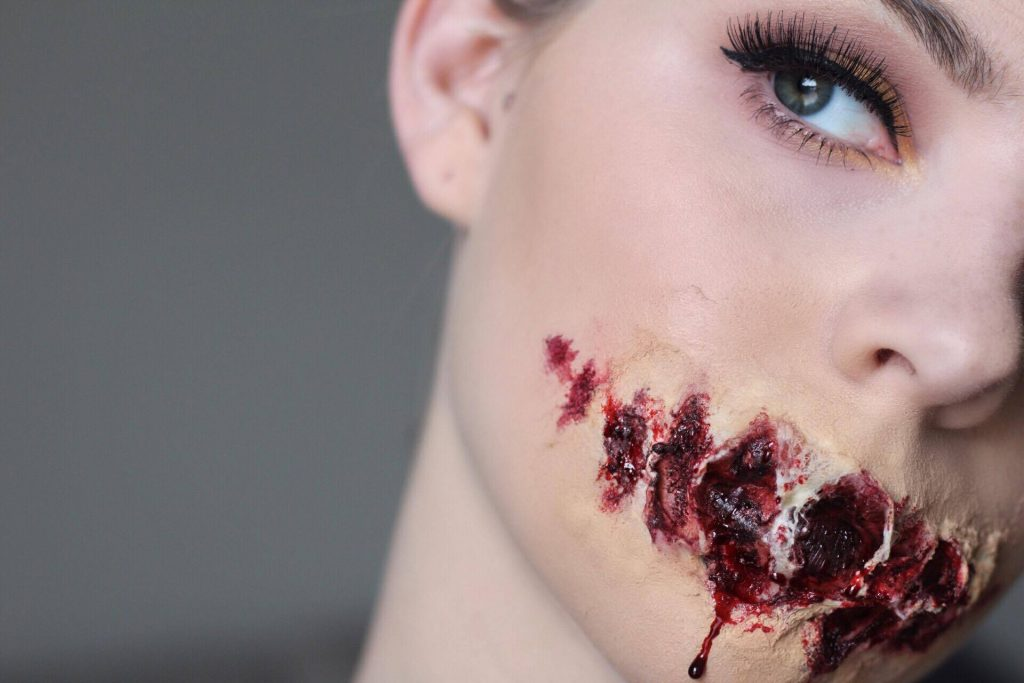 Halloween Tutorial Series: Ripped Open Mouth