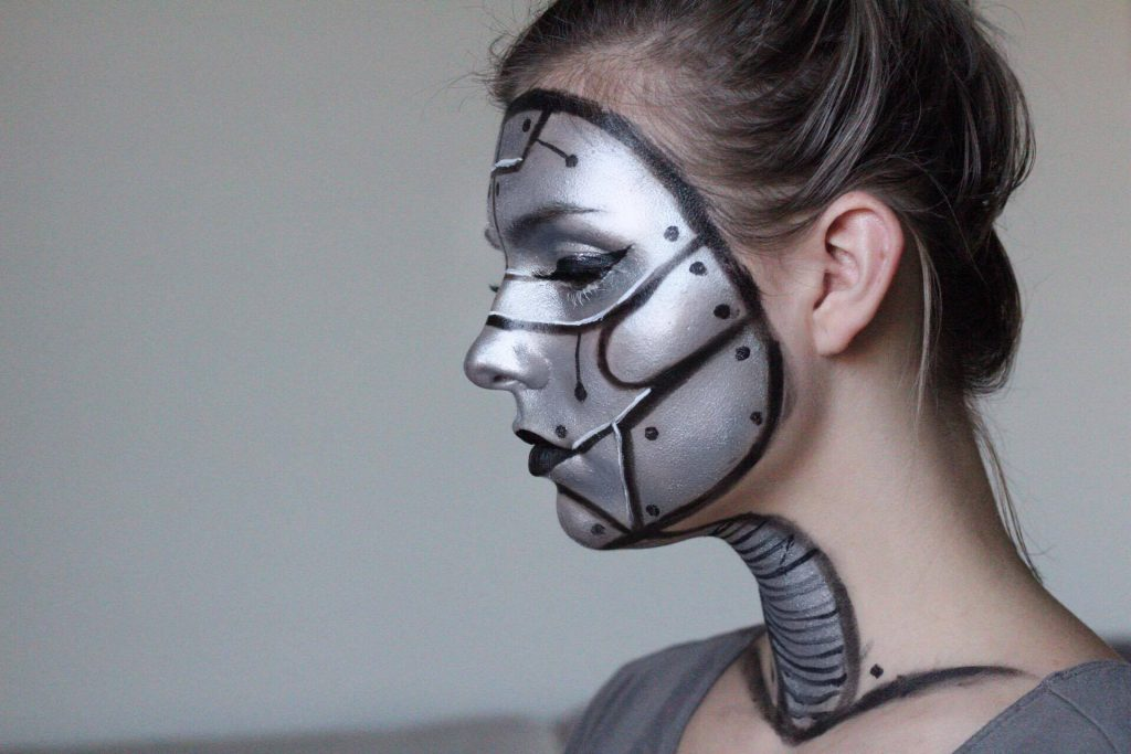 HALLOWEEN TUTORIAL SERIES: ROBOT / ANDROID