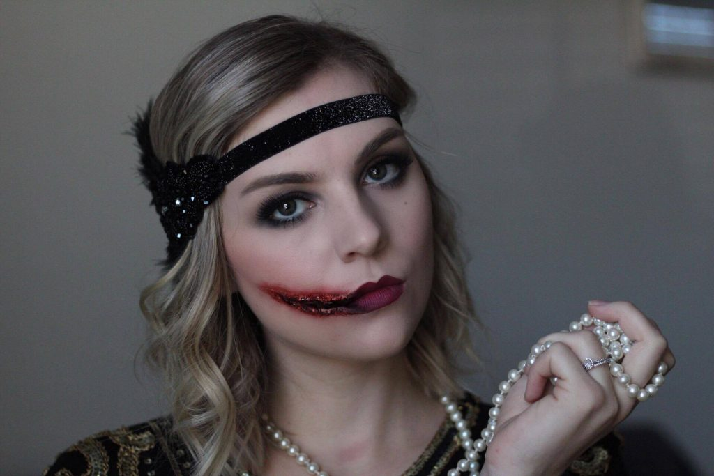 Halloween Tutorial Series: 1920's Chelsea Grin