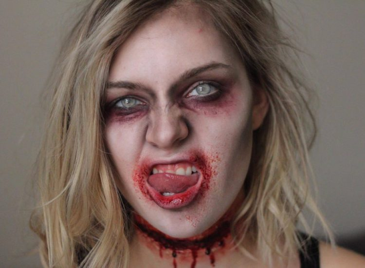 Halloween Tutorial Series: Slit Throat Zombie