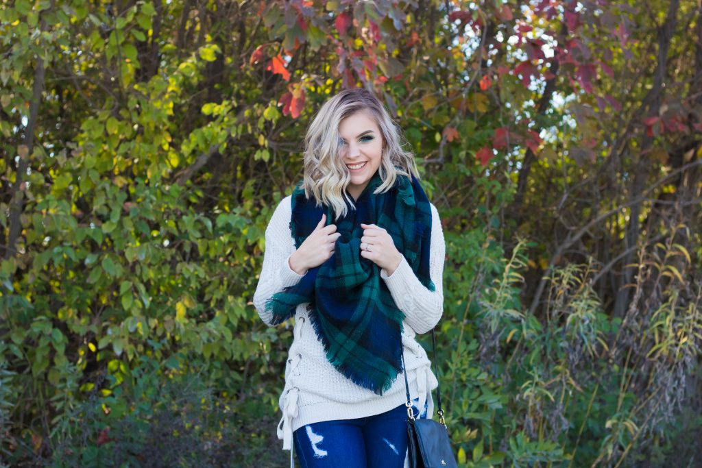 3 Ways To Wear A Blanket Scarf