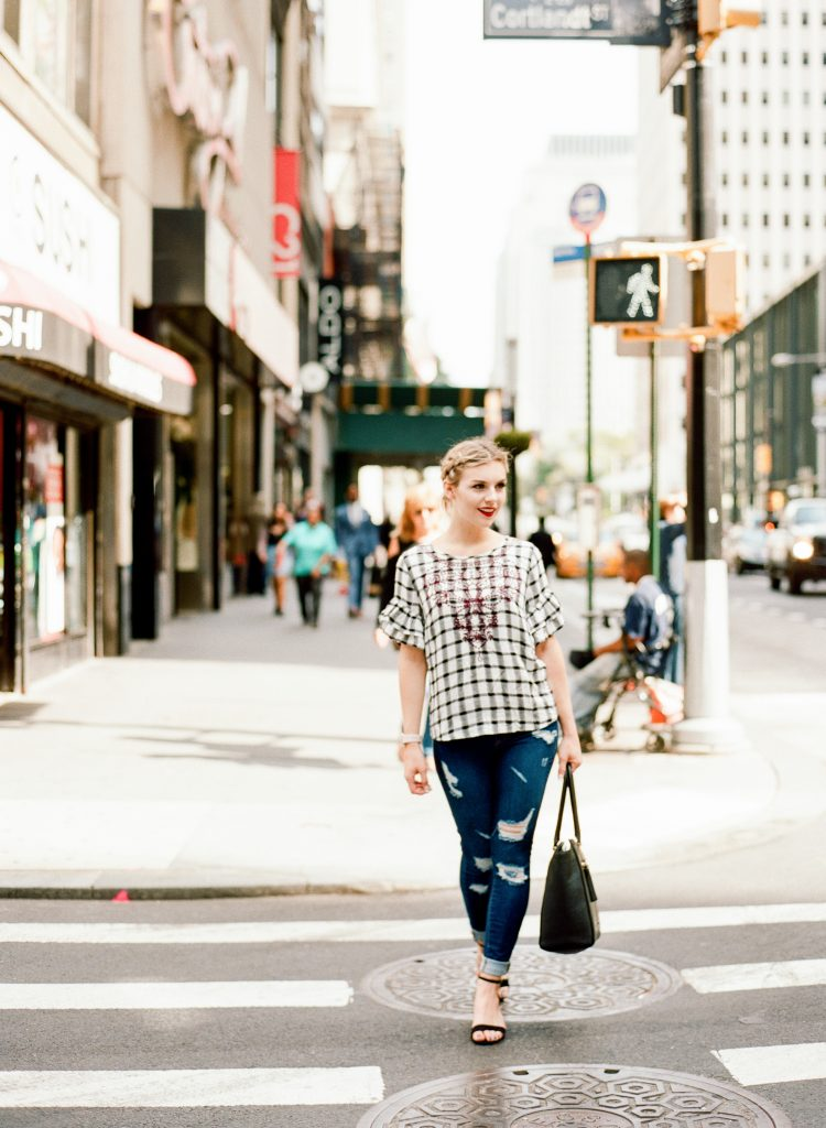 How To Rock Gingham + Maroon This Fallv