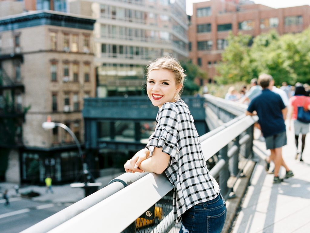 How To Rock Gingham + Maroon This Fall