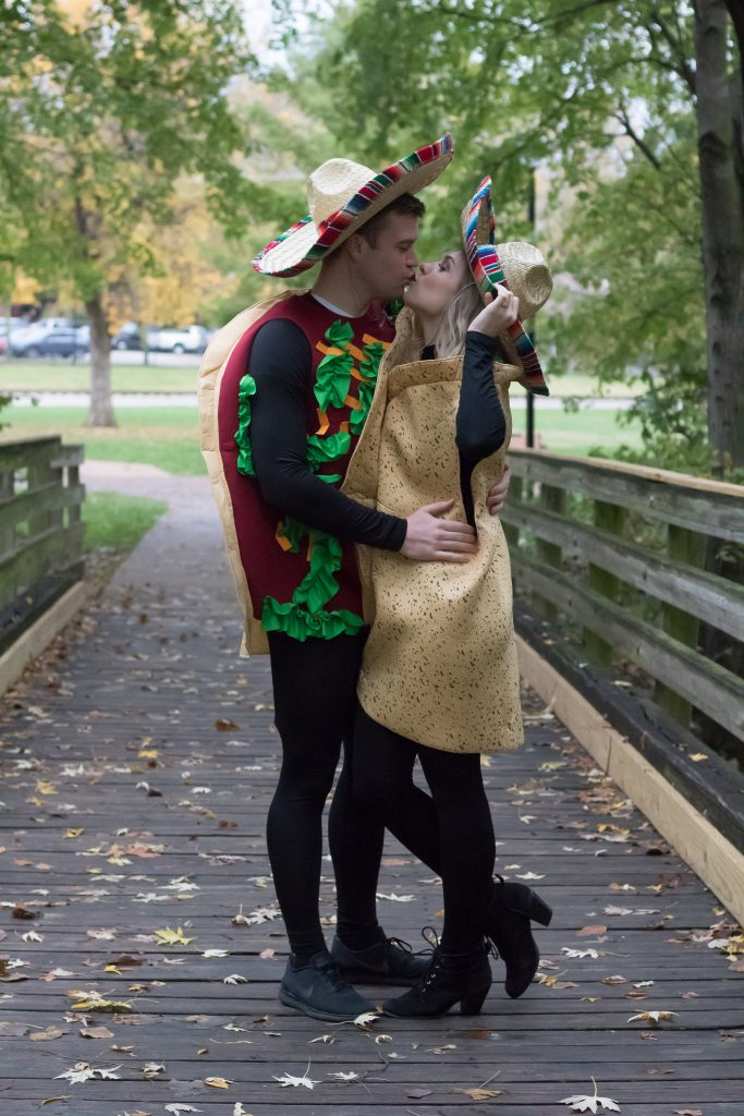 Taco Couples Costume for Halloween