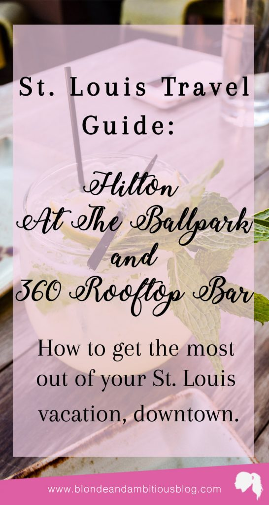 Hilton St. Louis At The Ballpark + 360 Rooftop Bar