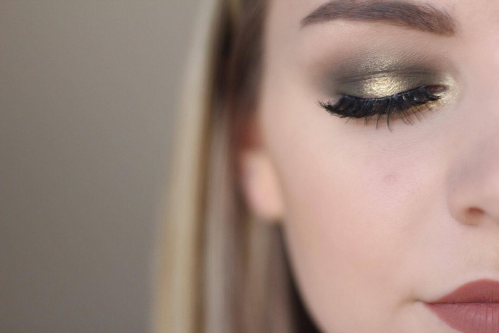 Olive Green Halo Eye Tutorial