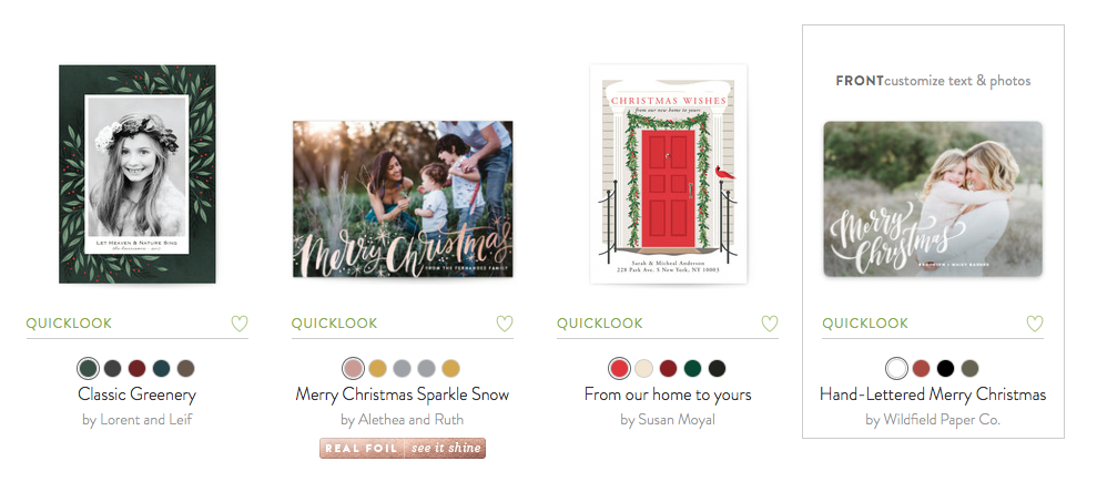How To Create The Perfect Holiday Card with Minted