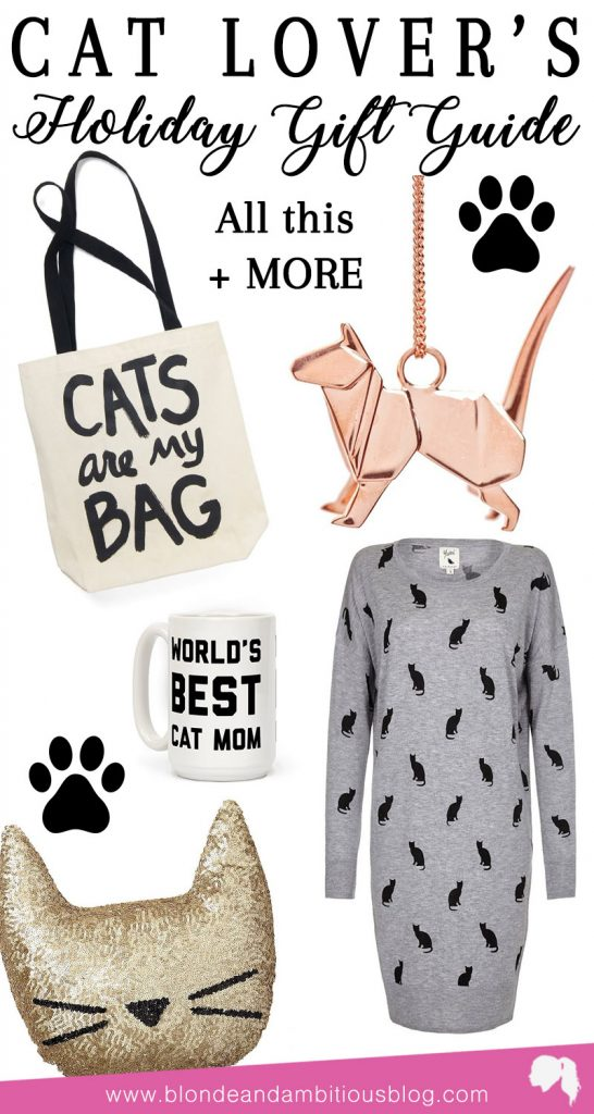 cat lover gift guide