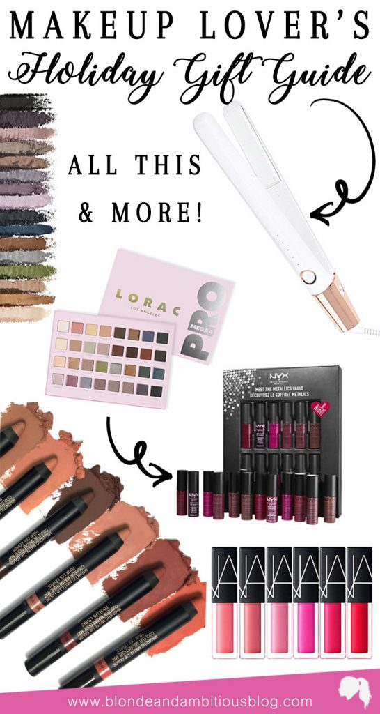 Makeup Lover's Holiday Gift Guide