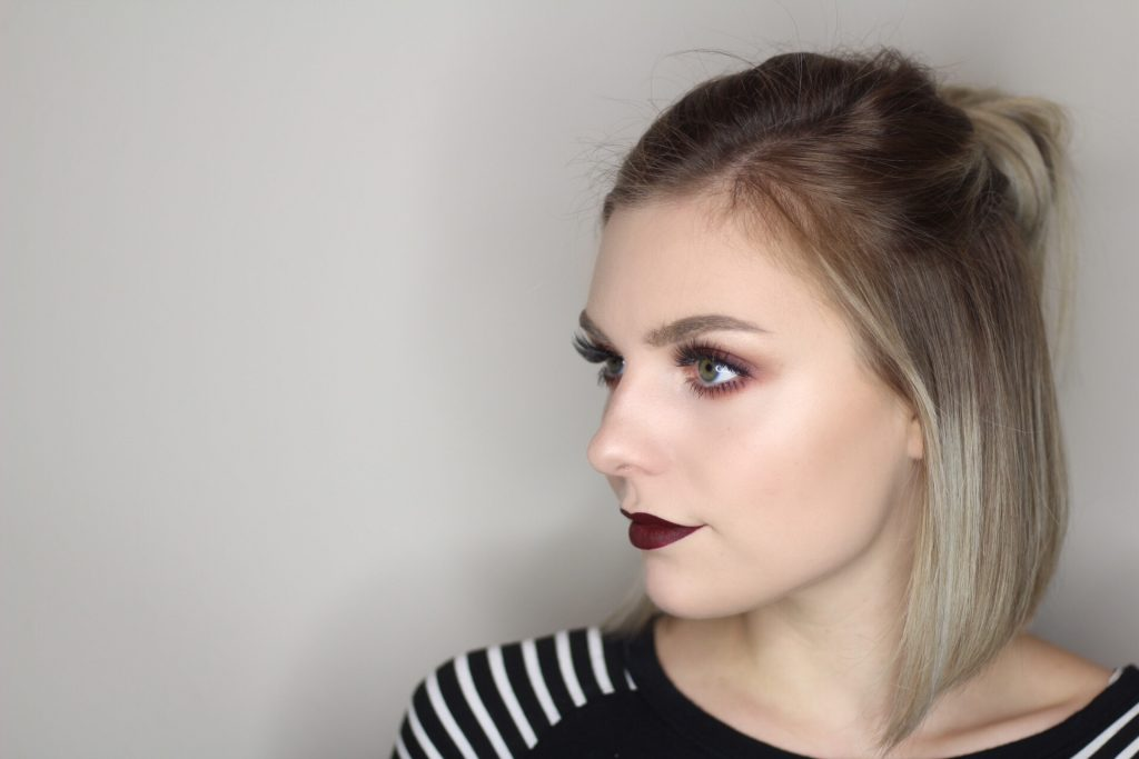 New Year's Day Warm Glitter Smokey Eye Tutorial