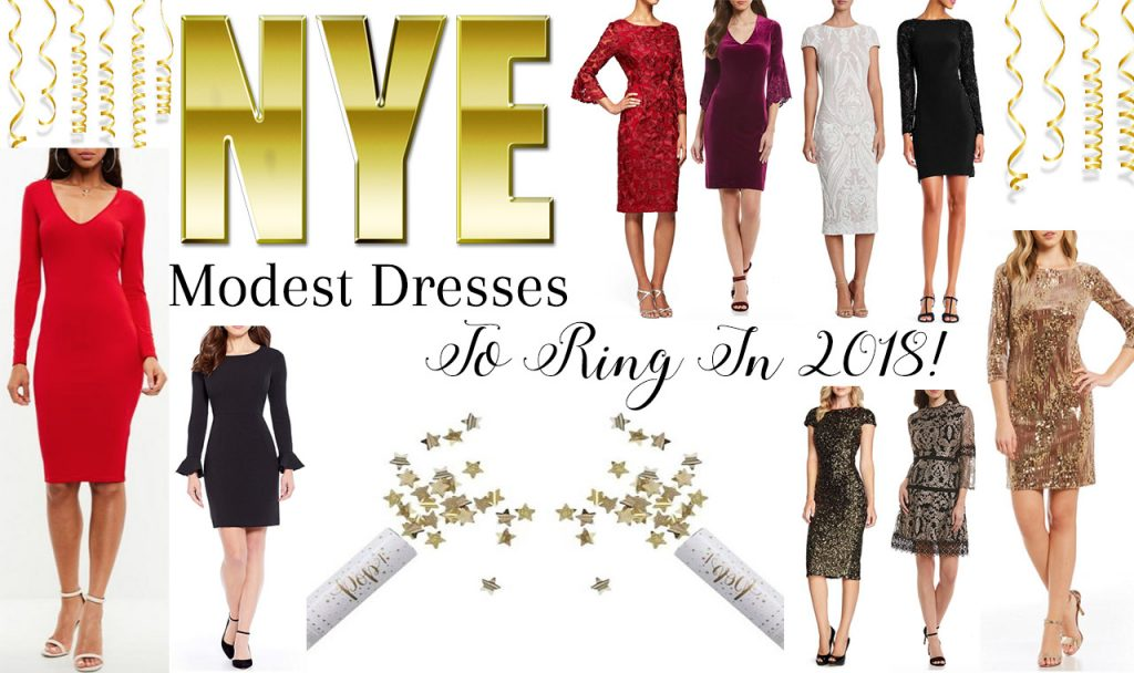 Modest New Years Eve Dresses To Ring In 2018