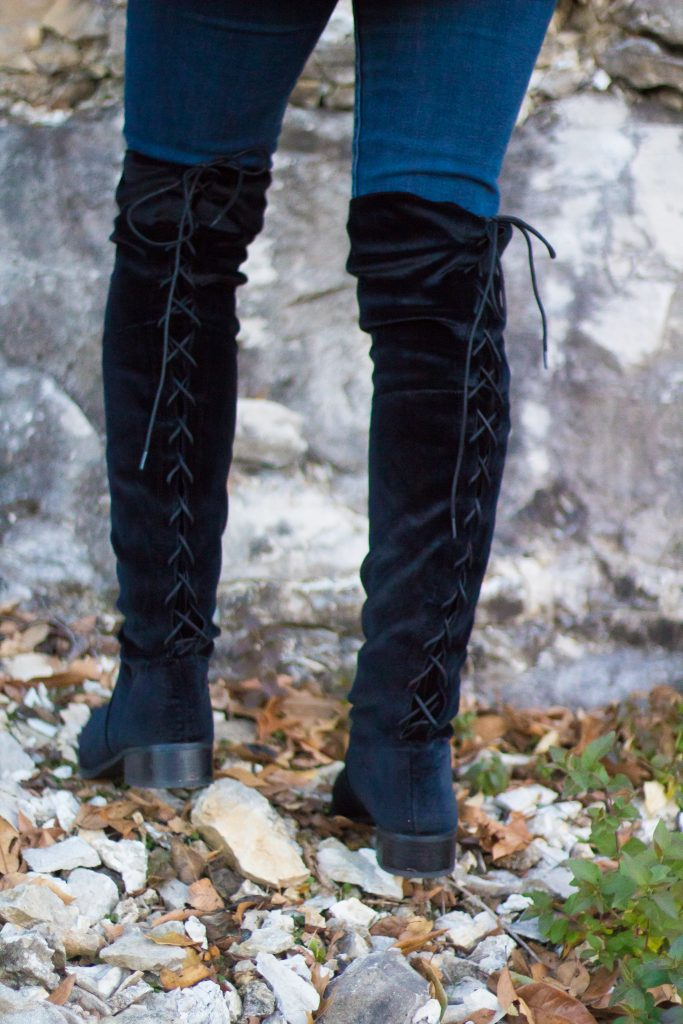 How To Wear Over-The-Knee Boots This Winter