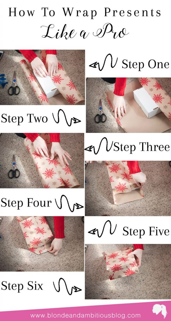 How To Wrap Christmas Gifts.How To Wrap Christmas Presents Like A Pro Blonde