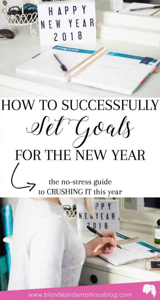 How To Goal Plan For 2018