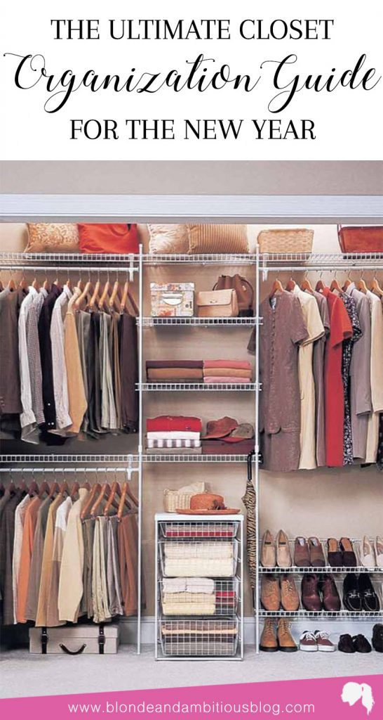 The Ultimate Closet-Organizing Guide For The New Year