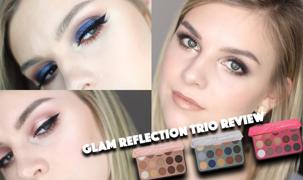 BH Cosmetics Glam Reflection Trio Collection Swatches + Tutorial