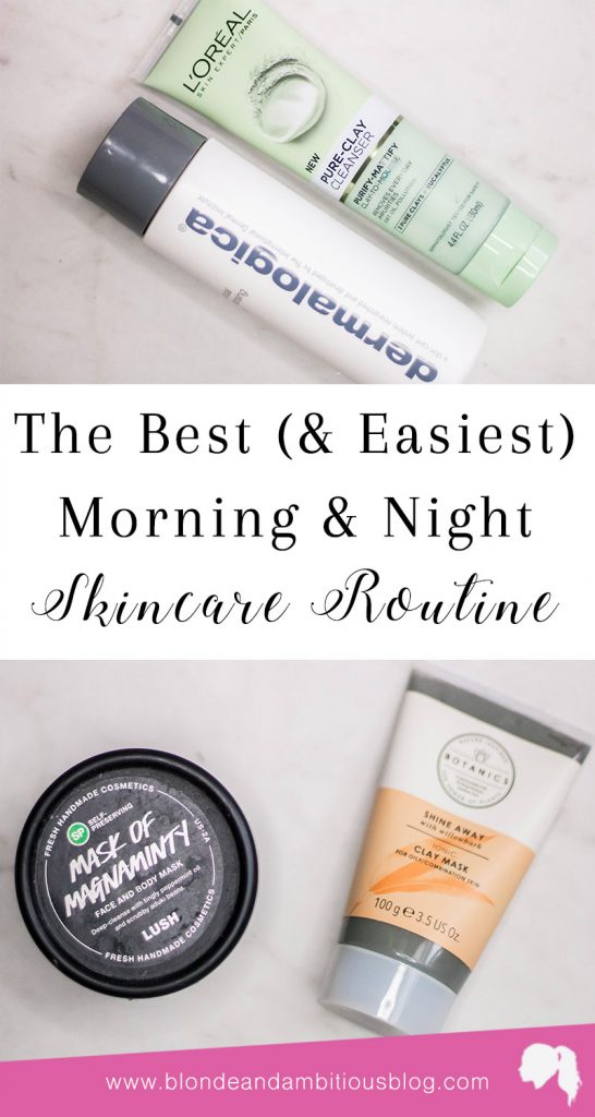 Morning & Bedtime Skincare Routine
