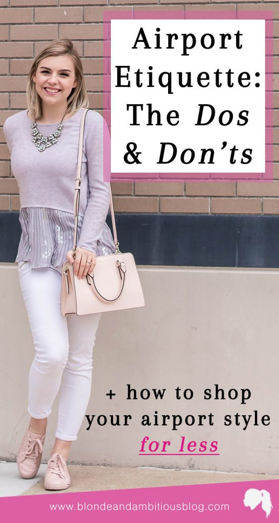 Pleated Peplum Top & Airport Style Do's and Don'ts