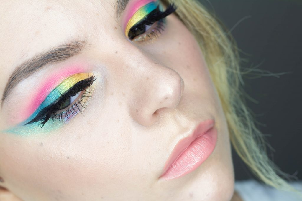 Coachella-Inspired Makeup Tutorial with Faux Freckles Video + Swatches
