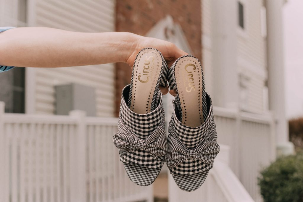 Spring Style #MustHave: Gingham Mules