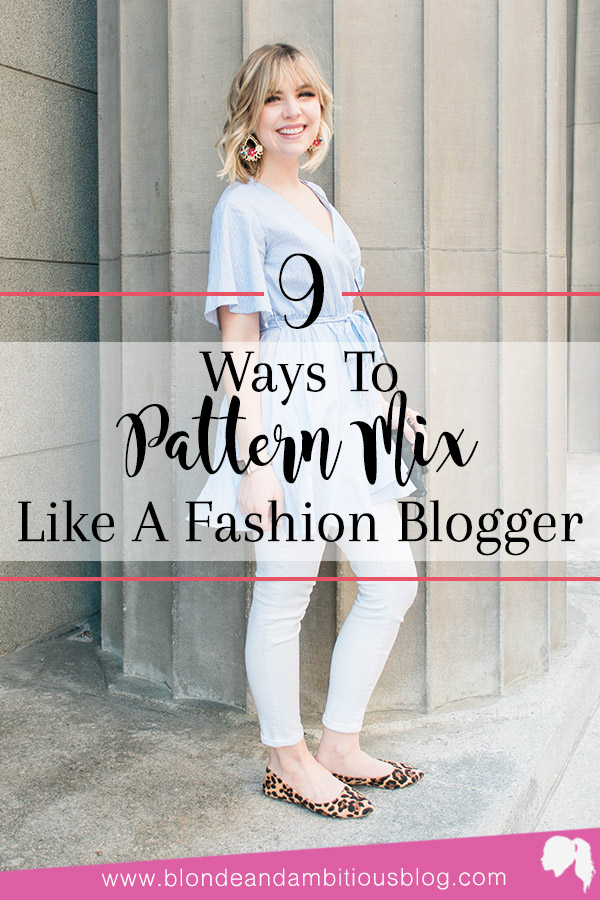 How To Pattern Mix Like A Fashion Blogger