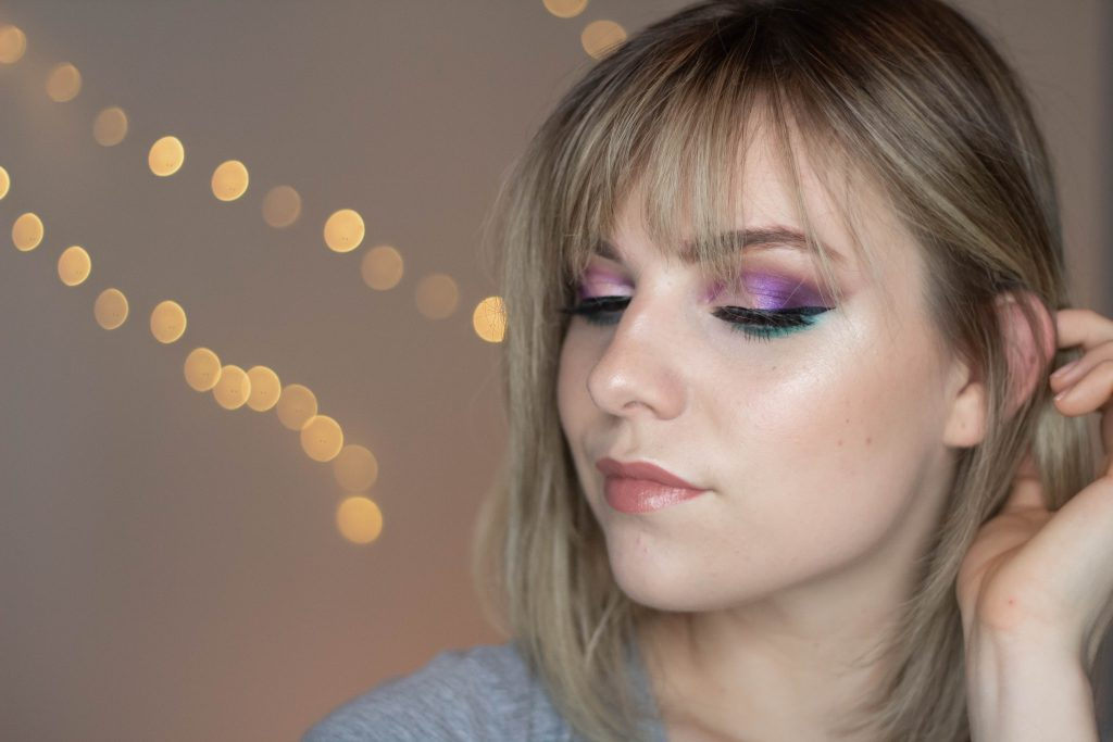 First Impressions GRWM + Purple Smokey Eye Tutorial