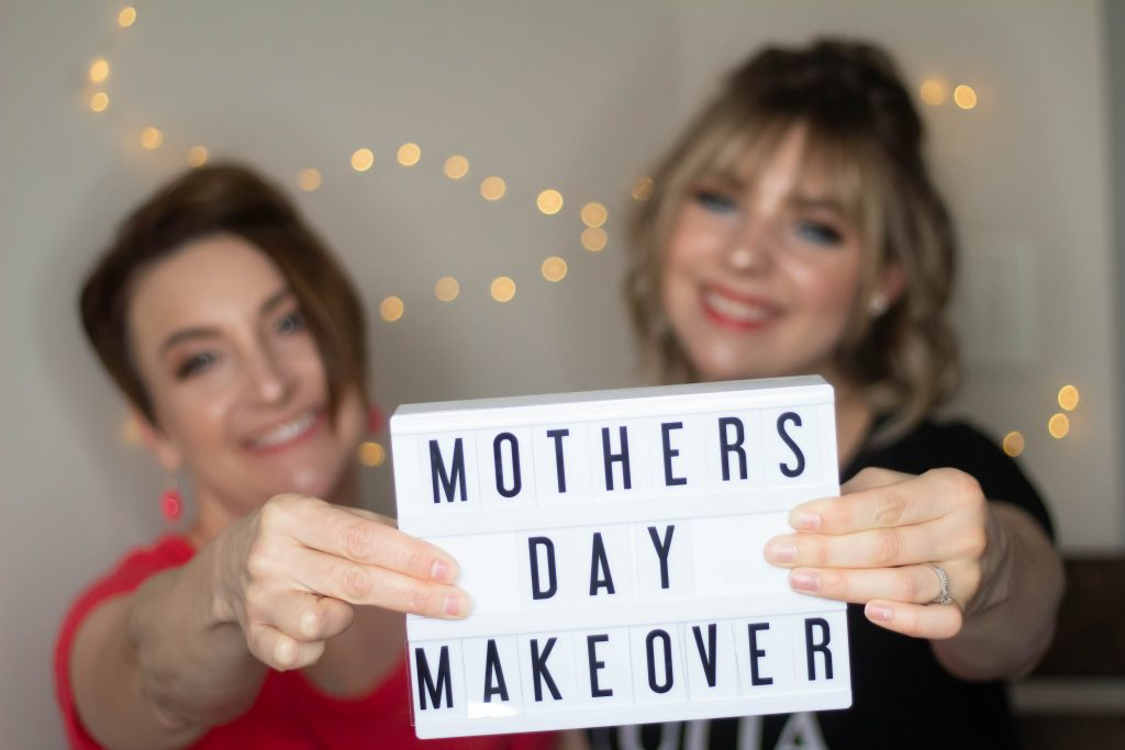 Mother's Day MAKEOVER (feat. my mama)